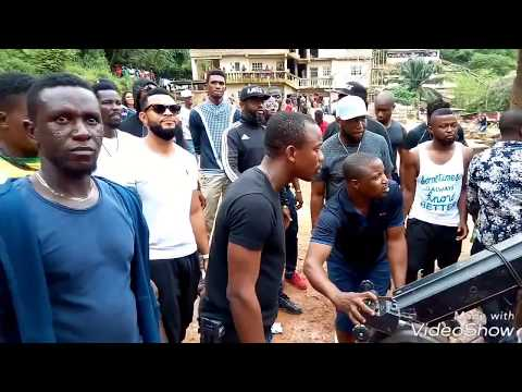 The making of Flavour Ijele ft Zoro musical video