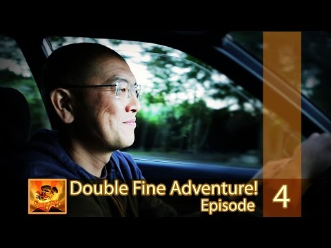 "Double Fine Adventure! EP04: ""Walking Around In Our Drawings"""