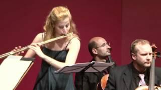 J.S. Bach: Andrea Loetscher, flute (Part 2: Rondeau)