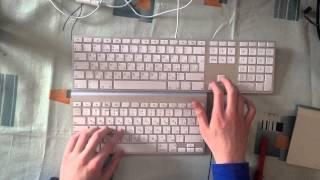 Сравнение Apple Wireless Keyboard и Apple Keyboard with Numeric Keypad