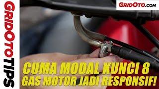Cara Bikin Gas Motor Lebih Responsif | How To | GridOto Tips