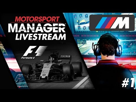 April 29th Motorsport Manager Stream: Formula 1 BMW - 2023 Season