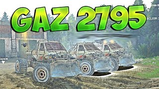 Gaz 2795 Sparta (Тачка из Metro 2033) - Spintires