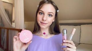 АСМР Сделаю тебе макияж Шепот Ролевая игра ASMR Doing Your Makeup