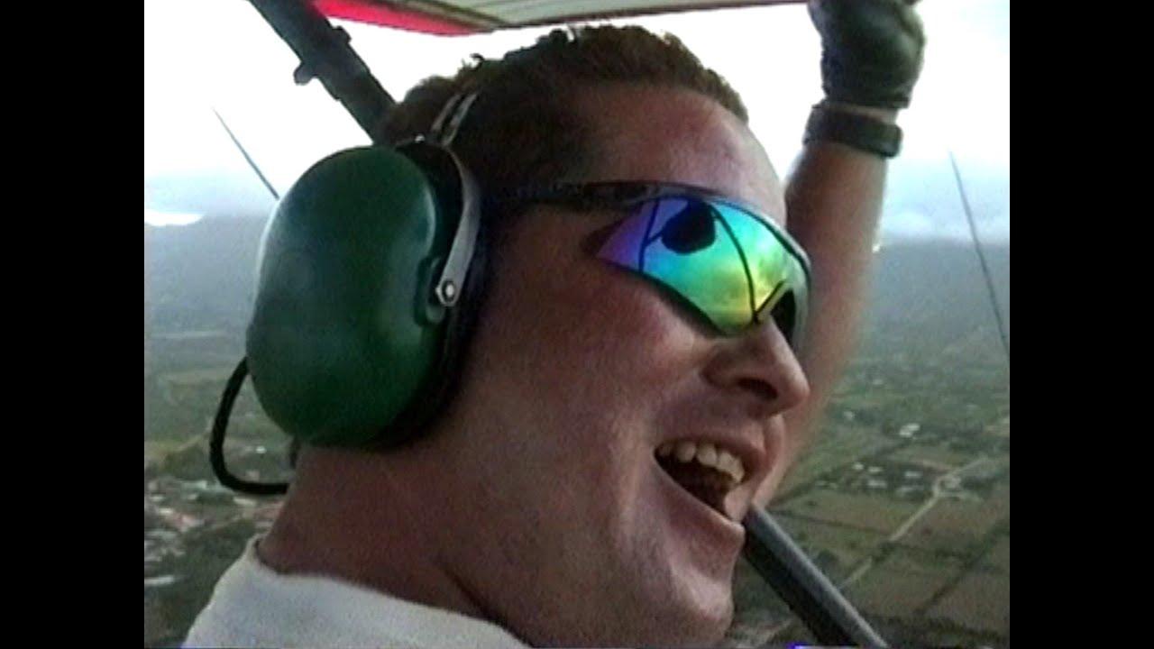 Venezuela Isla Margarita Mit Dem Ultralight Flugzeug Uber Die