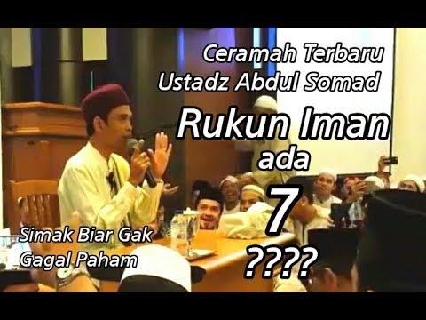 Rukun Iman Ada 7 !?? Ceramah Ustadz Abdul Somad Terbaru ...