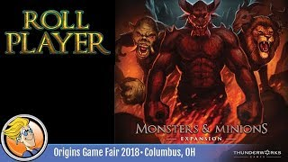Roll Player: Monsters & Minions — game preview at Origins 2018