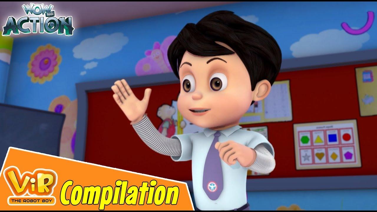 Best Episodes Of Vir The Robot Boy | Cartoon For Kids | Compilation 85 | Wow Kidz Action