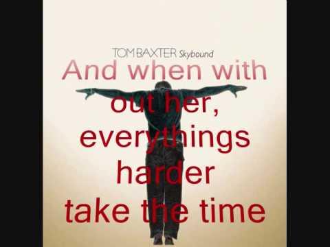 TOM BAXTER - TELL HER TODAY (album version with lyrics)