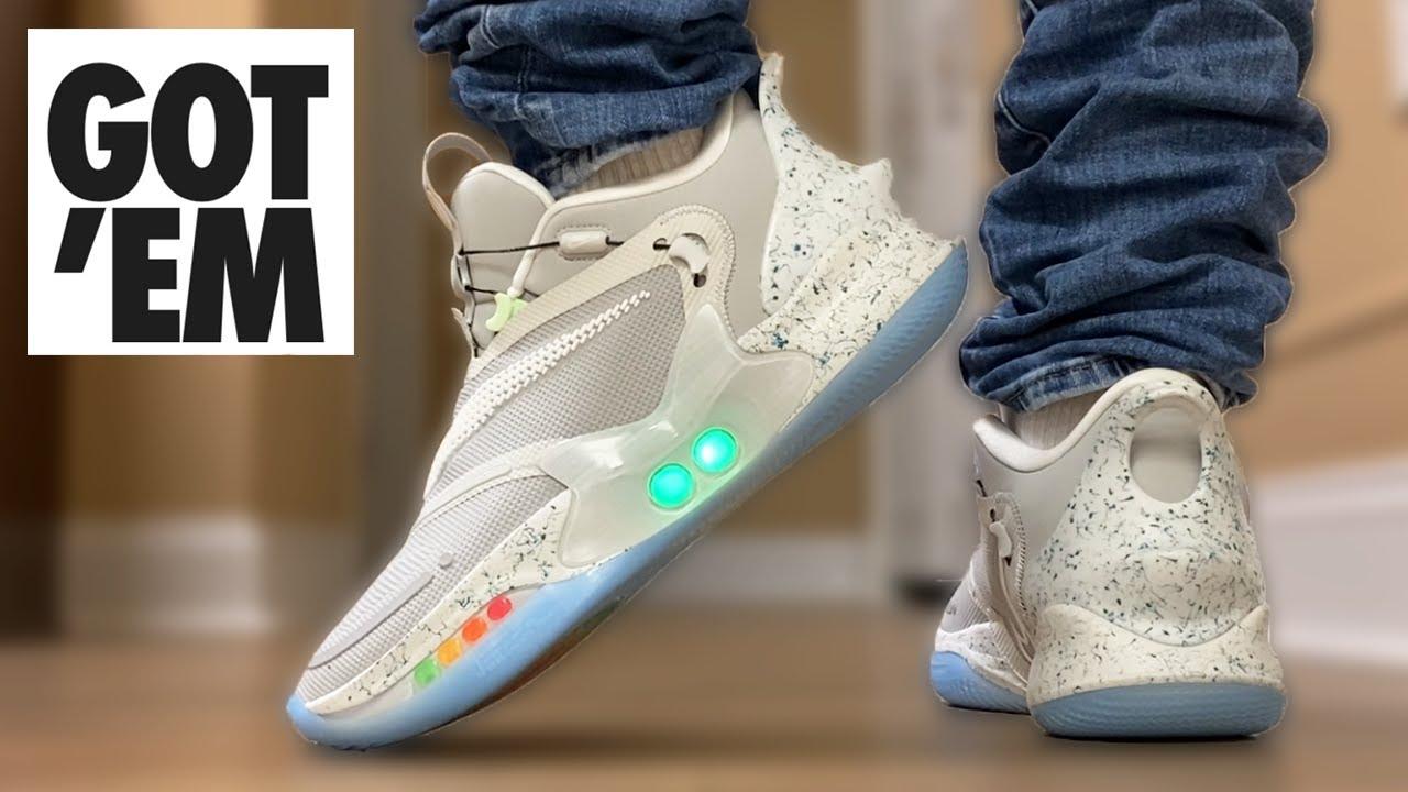 The Best Adapt Nike Adapt Bb 2 0 Mag On Feet Youtube