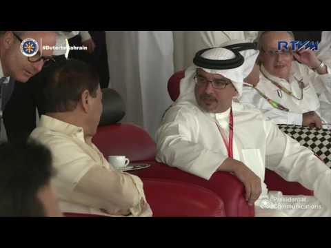 Meeting with His Royal Highness Salman Bin Hamad Bin Isa Al Khalifa
