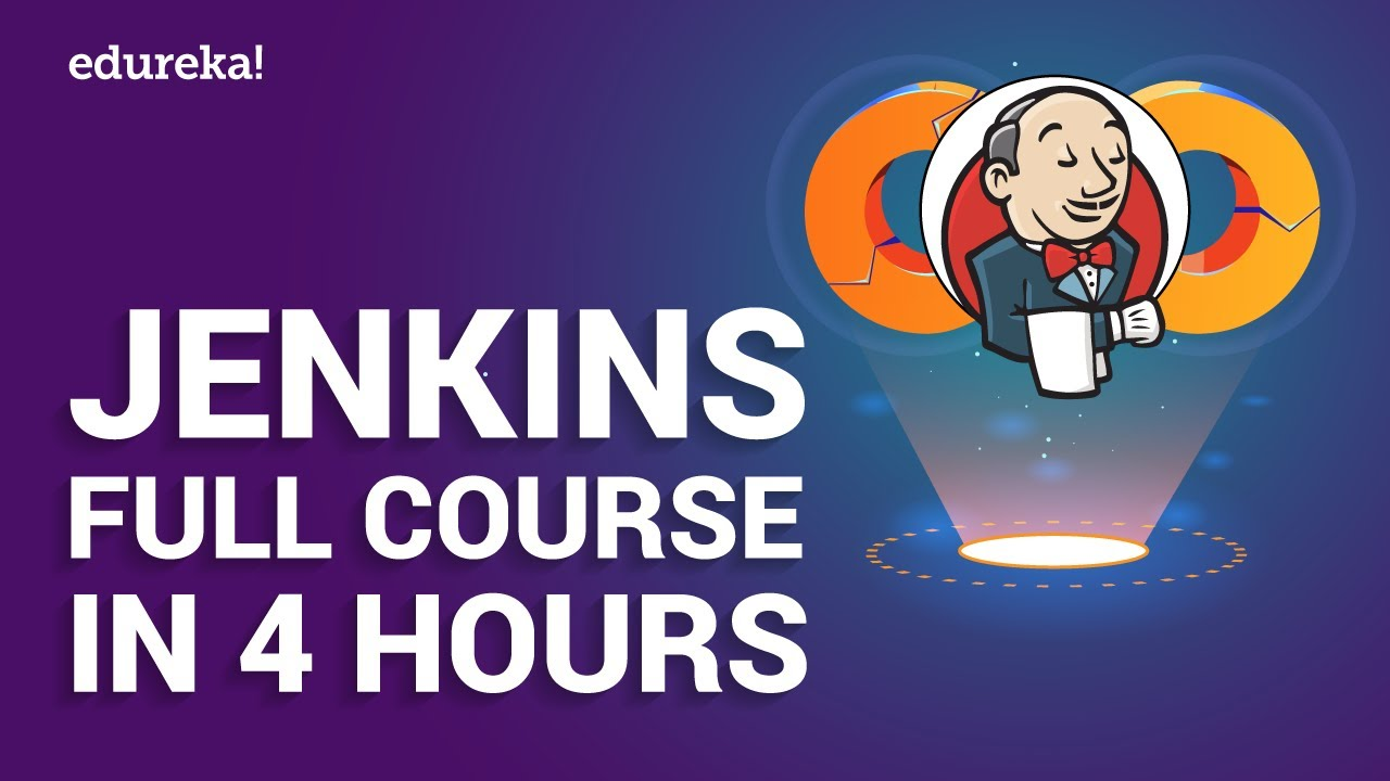 Jenkins Full Course in 4 Hours   Jenkins Tutorial For Beginners   DevOps Training