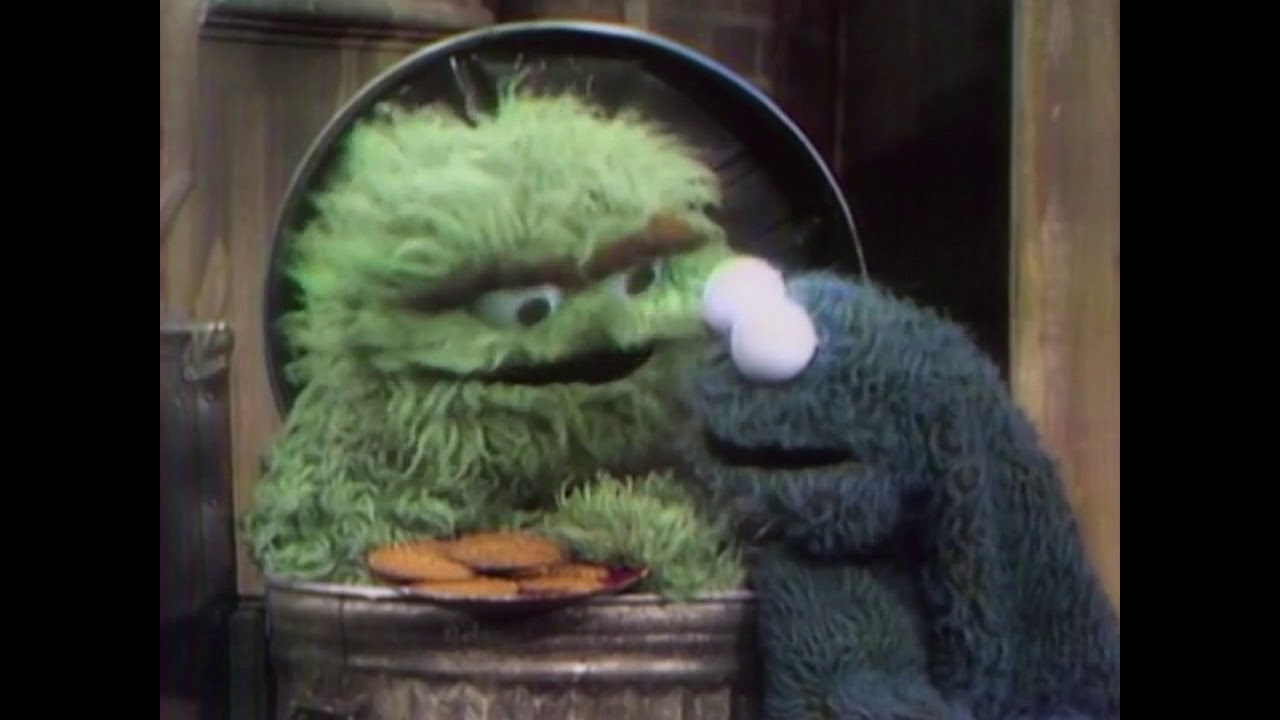 aa66b0601c Sesamstrasse - Oscar + Krümelmonster - Oscars Kekse - YouTube