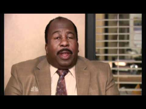 "The Office: Stanley ""...and shove it up your butt."""