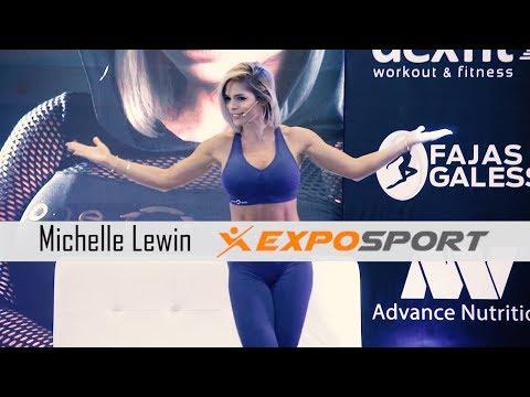 Michelle Lewin En Expo Sport Guadalajara 2018