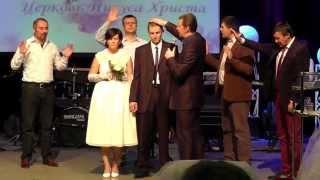 ВЕНЧАНИЕ в евангельской церкви ВАНЯ и ЛЕНА
