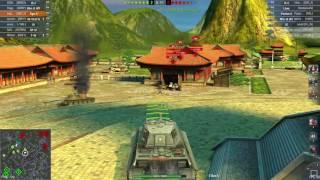 WoT Blitz || Tiger II - 4000+ DMG || Feat. Enginecrew