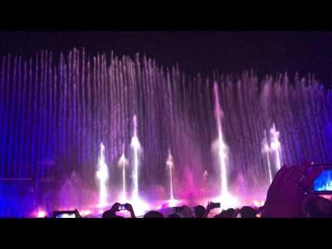 Fountain Exhibition of Okada Manila - Tiger Hotel Resort and Casino