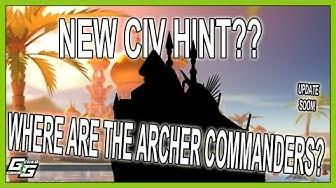 NEW CIVILIZATION HINT? WHERE ARE THE ARCHER COMMANDERS??? - Rise of Kingdoms