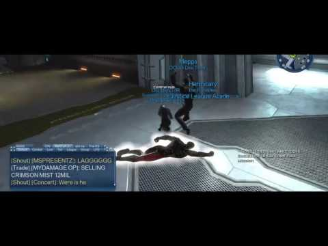 DCUO   Mepps Military Work Out! (Doomsday!)