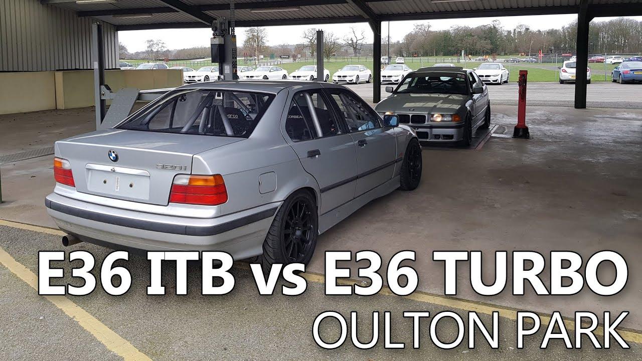 E36 ITB vs E36 Turbo Oulton Park 2nd March 2019 - f0xy