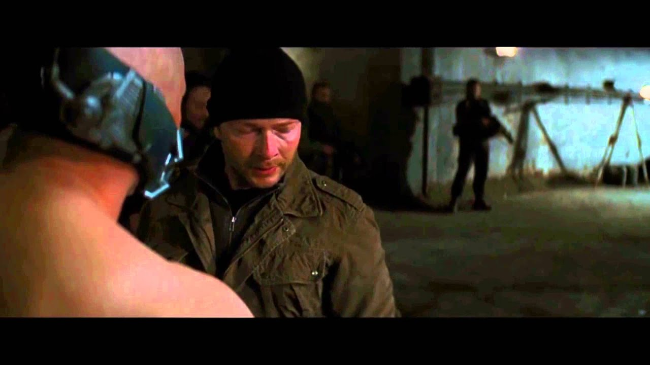 Download The Dark Knight Rises - Bane Why are you here ?  FULL HD 1080p