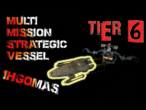 Ihgomas Multi-Mission Strategic Vessel [T6] – with all ship visuals - Star Trek Online