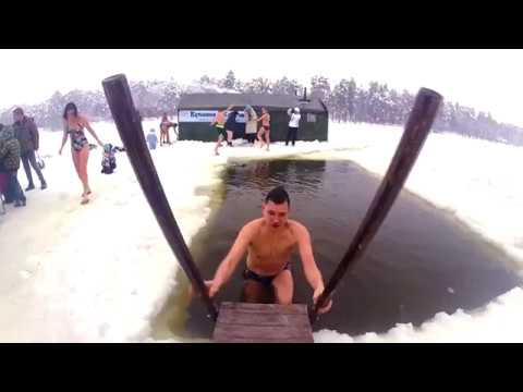 Продолжаем купаться в Кратово! (Раменское, Прорубь, Жуковский, Закаливание)