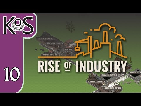 Rise of Industry Ep 10: SARDINE & TUNA PARTY! - PRESS ALPHA! - Let's Play, Gameplay