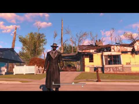 Fallout 4 PS4 MOD review, FLASH SPEED, 15X HIGH JUMP, CABOT HOUSE, ULTIMATE CHEAT ROOM