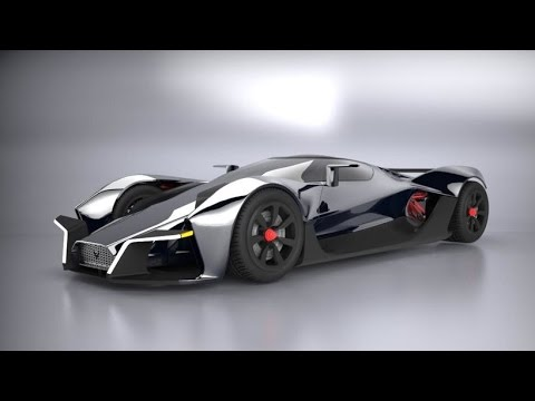 The Dendrobium Electric Hypercar Concept Youtube