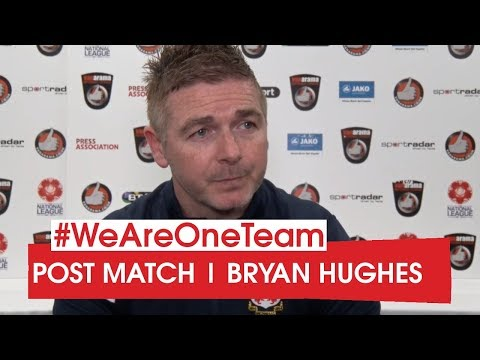 WATCH | Bryan Hughes after Chesterfield