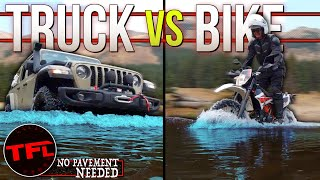 Jeep vs KTM - What's Better Off-Road: Two or Four Wheels? No Pavement Needed (Webster Pass) Ep.7