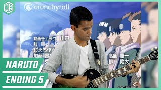 Naruto - Ending 5 「Ima Made Nandomo」 Guitar Cover