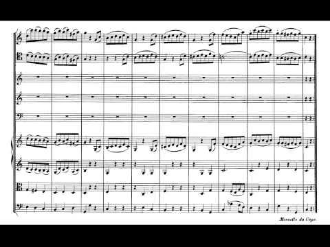 Mozart. Sinfonía nº 36 en Do mayor Kv 425 Linz III-Menuetto