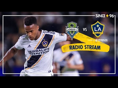 LA Galaxy Vs Seattle Sounders FC | Radio Live Stream