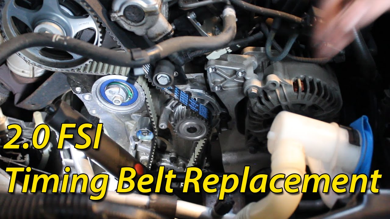 medium resolution of how to timing belt replacement seat skoda volkswagen 2 0 fsi audi a3 20 fsi timing chain diagram and how to install