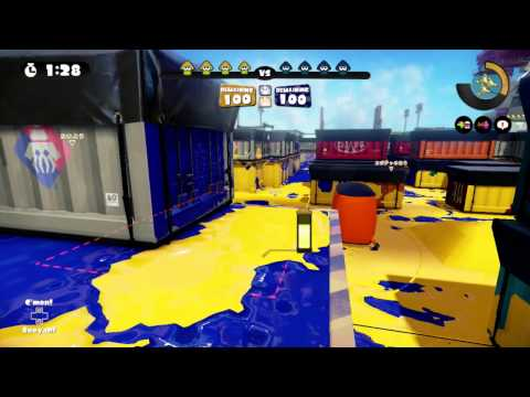 Splatoon - What happens if you tie in Splat Zone