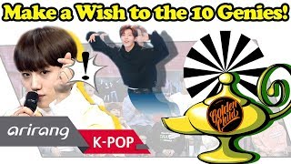 The 10 Genies that will make our wishes come true, Golden Child! Wi...