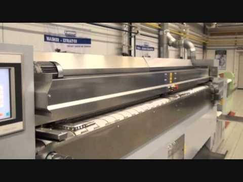 IPSO CFFS Ironer   Feeding, Folding, Cross Folder & Stacker