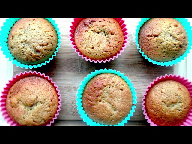 Apple Muffins Toddler Snack -  Toddler Recipe -  30 minutes