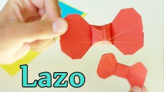 Lazo sencillo de Papel - Origami!