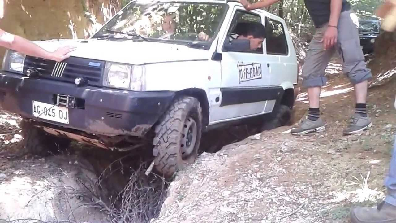 Off road panda 4x4 youtube for Panda 4x4 sisley off road