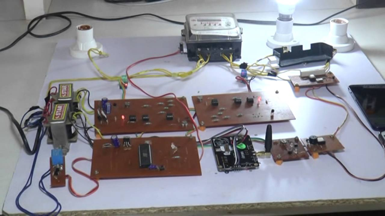 Energy Meter Tempering Tapping Power Detection System