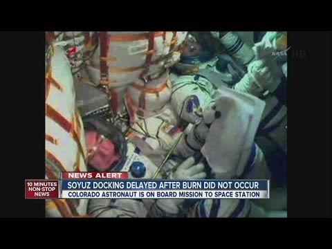 Colorado astronaut will have to wait two days before capsule docks with space station