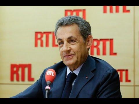 Nicolas Sarkozy était l'invité de RTL le 15 novembre 2016