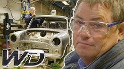 Mike Visits British Motor Heritage! | Mike Brewer's World Of Cars