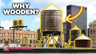 Why New York City Still Uses Wooden Water Towers - Cheddar Explains