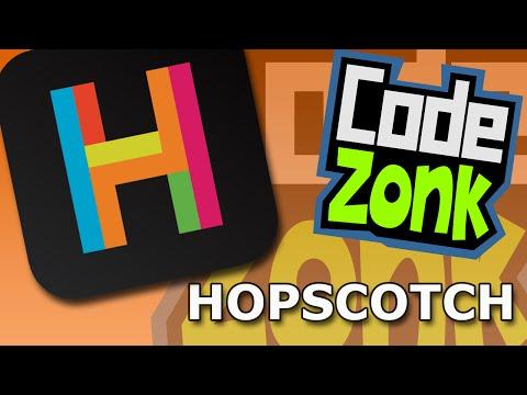 Coding for Kids - Hopscotch app on iOS/iPad
