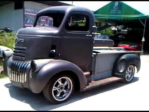 Custom Coe 47 Chevy Rolling Youtube